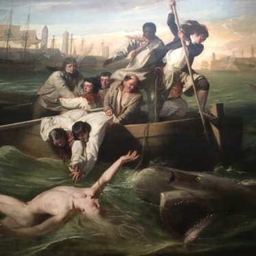 Brook Watson shark painting