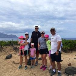 Aloha group photo